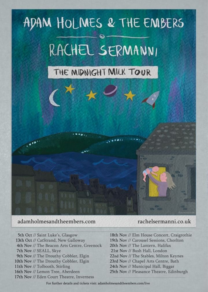 Adam and Rachel Tour Poster